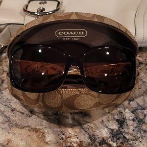 Coach S496 Ginger tortoise sunglasses